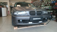 Total covering car wrapping wrap charcoal mat metallic  Avery BMW E46
